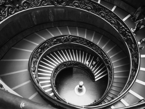 treppenschnecke Ferien & Urlaub & Reisen alt Architektur Leben Tourismus Ausflug Treppe ästhetisch Lebensfreude Italien historisch rund Neugier Sehenswürdigkeit