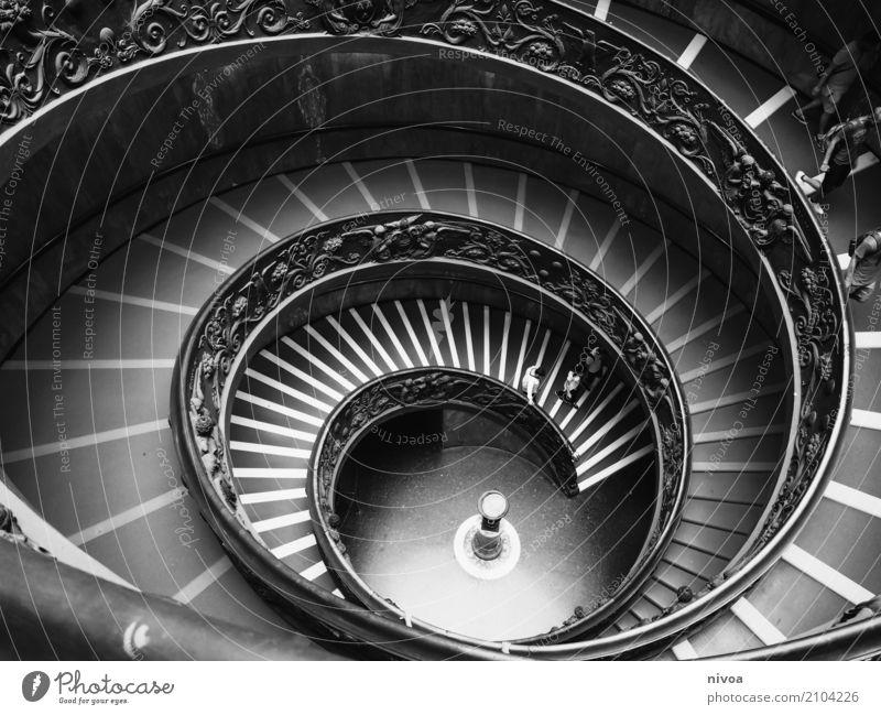 treppenschnecke Ferien & Urlaub & Reisen Tourismus Ausflug Sightseeing Städtereise Ausstellung Museum Kunstwerk Architektur Vatikan Vatikanische Museen Italien