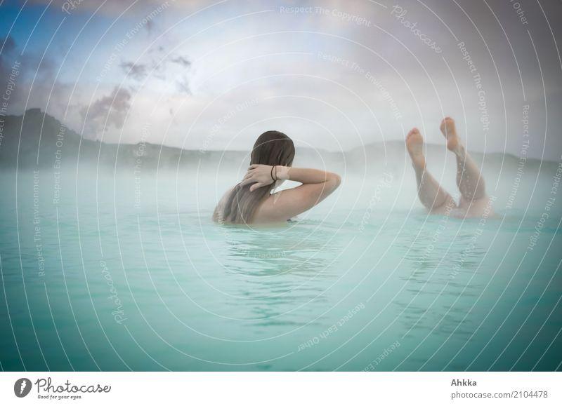 Eintauchen Wellness Leben harmonisch Wohlgefühl Zufriedenheit Sinnesorgane Erholung ruhig Meditation Duft Spa Dampfbad Schwimmbad Whirlpool Schwimmen & Baden