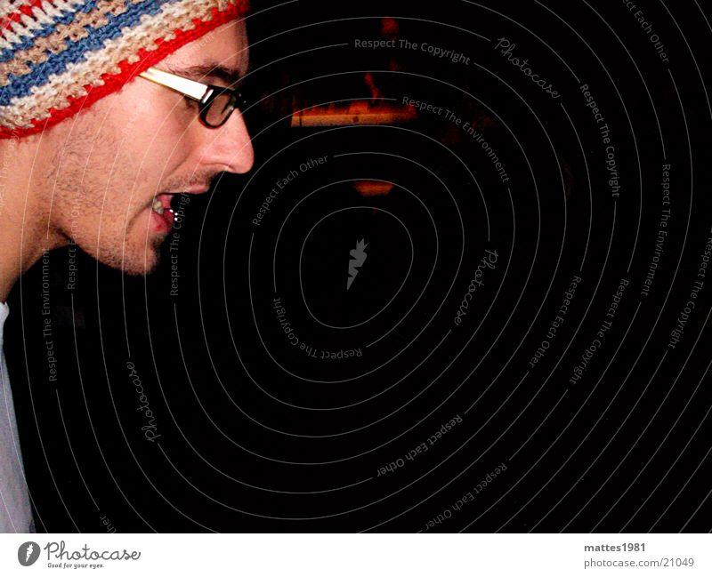 ASTMATIKER Schreihals schreien Mann Ralf Astma Bär Freude Der Schrei Hip Hop Jam Erfolg Torch Klorollen-Schutz  auf dem Kopf DBS www.buntesucht.de Hilde
