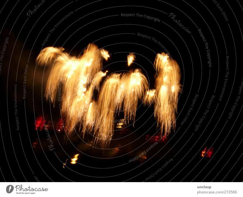 Feuerwerk Lifestyle Freude Glück Ferien & Urlaub & Reisen Nachtleben Entertainment Veranstaltung Feste & Feiern Show Open Air Gefühle Euphorie träumen Farbfoto