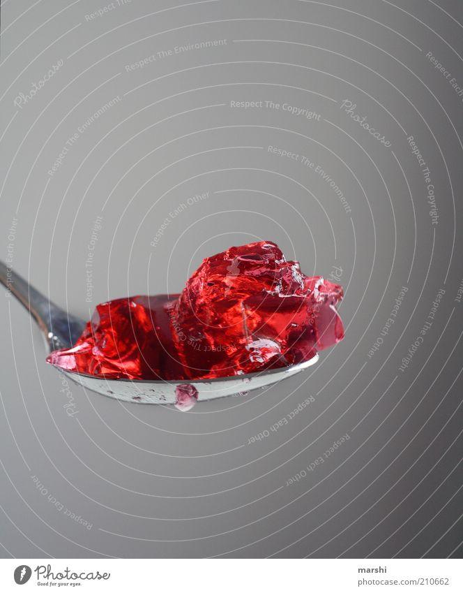 Die Speise der Götter (300) rot Ernährung Lebensmittel süß Appetit & Hunger Süßwaren lecker Zucker füttern Dessert Löffel Geschmackssinn Konsistenz ungesund geschmackvoll Pudding