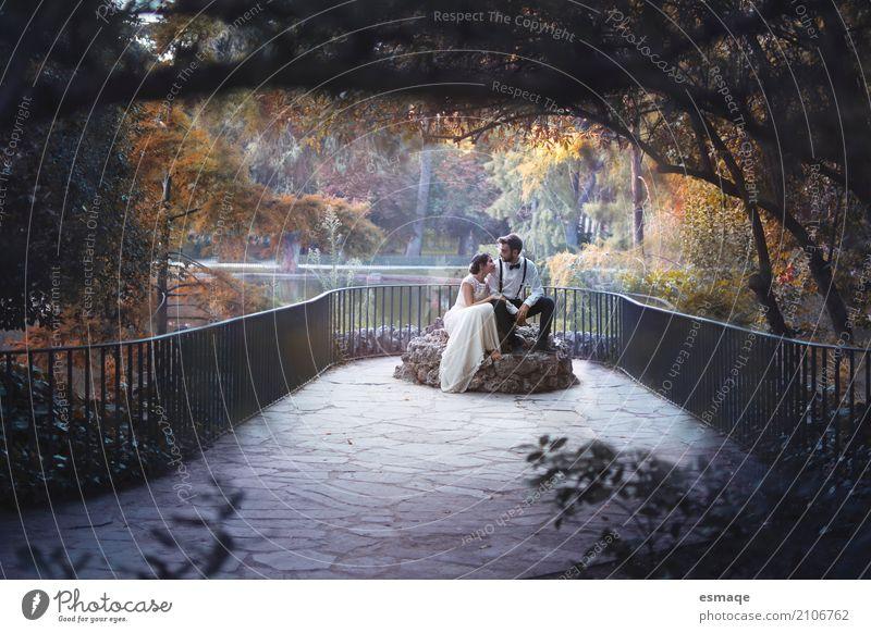 Ehemann und Ehefrau in einem verheirateten Kleid Mensch Frau Natur Jugendliche Mann Junge Frau Wasser Junger Mann Baum 18-30 Jahre Erwachsene feminin