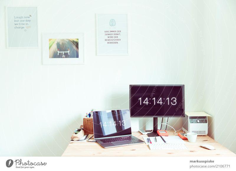 Büro Haus Lifestyle Innenarchitektur Stil Zeit Design Arbeit & Erwerbstätigkeit Büro Kommunizieren Kreativität Telekommunikation Computer lernen Idee Beruf Internet