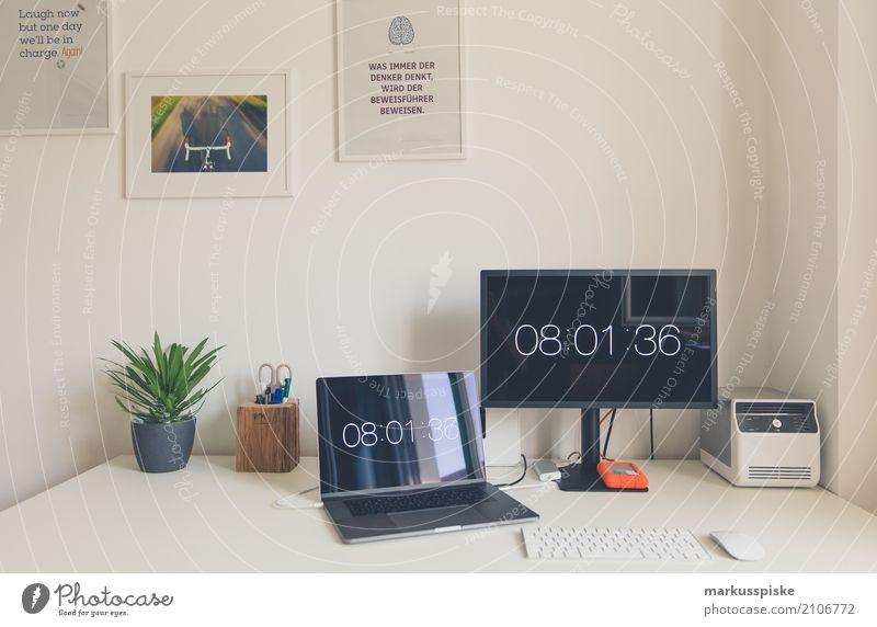 Kreativ Workspace Haus Lifestyle Innenarchitektur Stil Design Arbeit & Erwerbstätigkeit Büro Kreativität Telekommunikation Computer lernen Idee Bildung Beruf