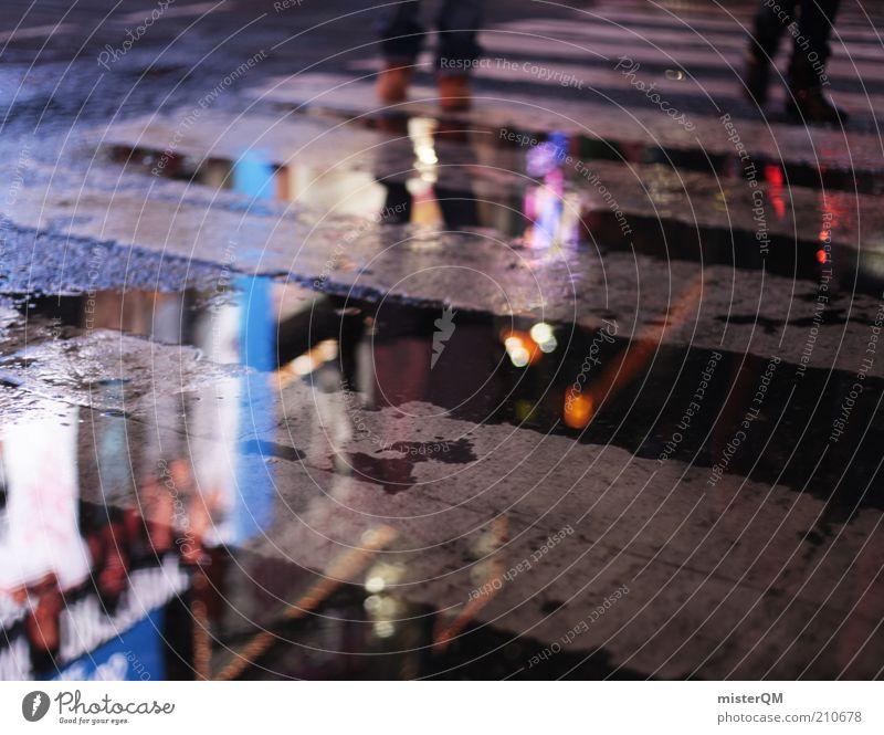 The Space Between. Freude Stimmung Freizeit & Hobby ästhetisch Zukunft Werbung Gesellschaft (Soziologie) skurril Club chaotisch Identität New York City abstrakt