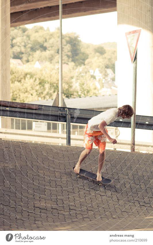 This is where I live | No. 007 Jugendliche Leben Sport Freiheit Bewegung Stil Freizeit & Hobby elegant Schilder & Markierungen Beton ästhetisch Coolness fahren