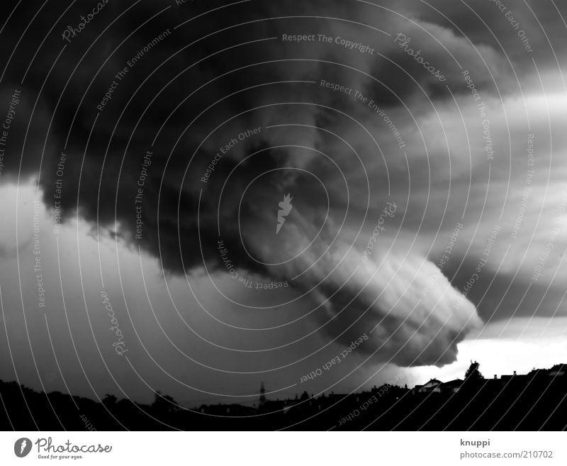 2012 Umwelt Natur Landschaft Luft Wasser Himmel Wolken Gewitterwolken Horizont Sommer Klima Klimawandel schlechtes Wetter Unwetter Sturm Regen Luzern Schweiz