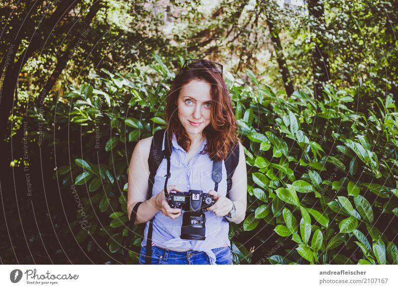 Road Trip // West Coast USA, Washington Mensch Jugendliche Junge Frau schön grün Freude Wald 18-30 Jahre Erwachsene natürlich feminin Glück Mode Zufriedenheit