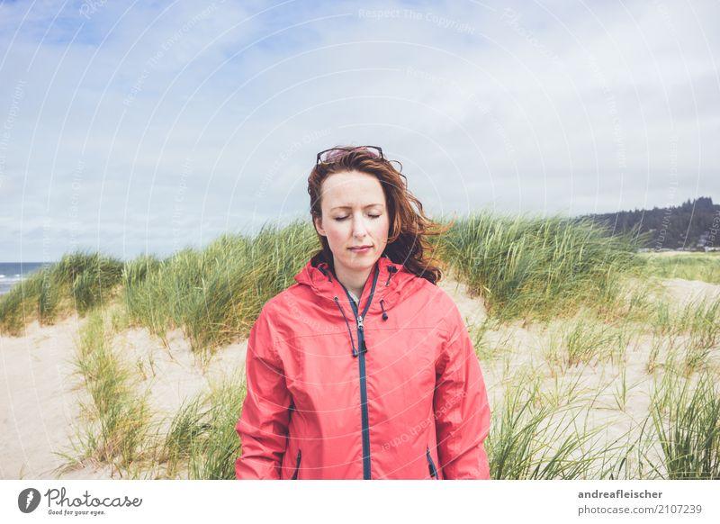 Road Trip // West Coast USA, Oregon Mensch Ferien & Urlaub & Reisen Jugendliche Junge Frau Sommer Sonne Meer Erholung ruhig Ferne Strand 18-30 Jahre Erwachsene