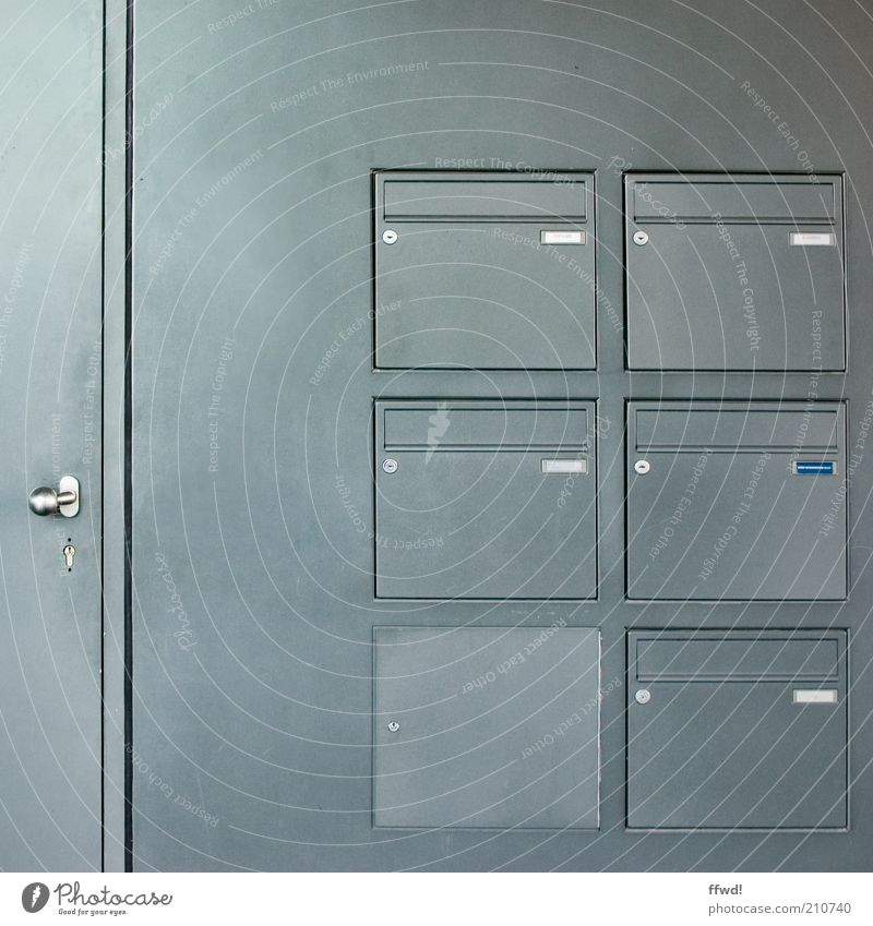 [PC-Usertreff Ffm]: Verschlusssache Wohnung Haus Gebäude Bürogebäude Mauer Wand Fassade Tür Namensschild Briefkasten Metall Schloss Griff einfach Ordnungsliebe