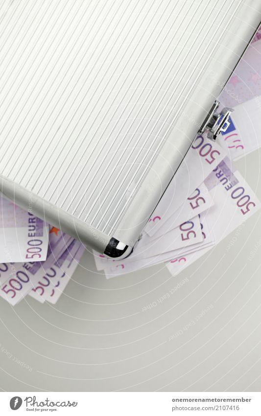 Real Money VIII Lifestyle Stil Freude Geld sparen Kunst ästhetisch Koffer voll Konto Schwarzgeld 500 viele reich Reichtum Erfolg Trostpreis Gewinnspiel Lotterie