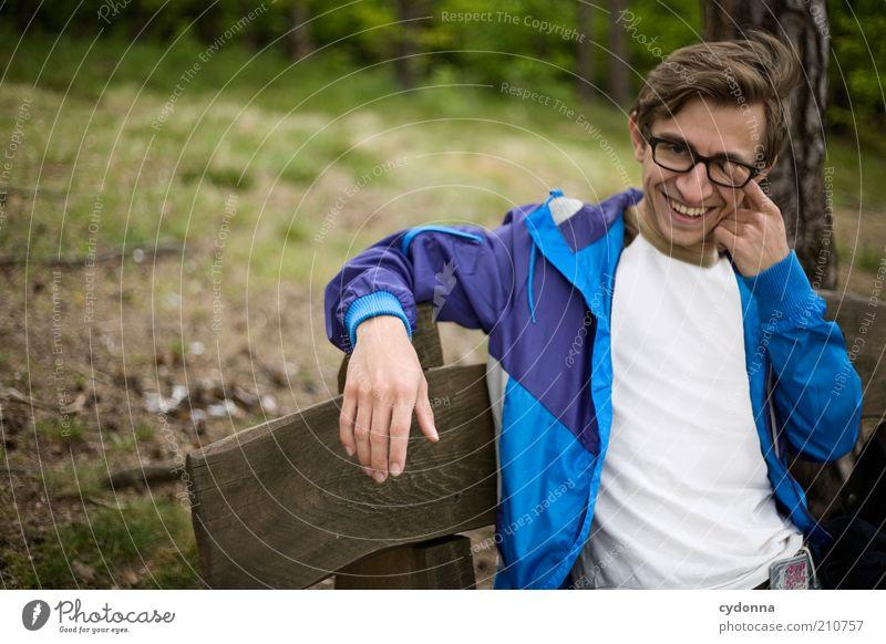 Keine Augenwischerei Lifestyle Stil Freude Glück Leben harmonisch Wohlgefühl Ausflug Freiheit Mensch Junger Mann Jugendliche 18-30 Jahre Erwachsene Umwelt Natur