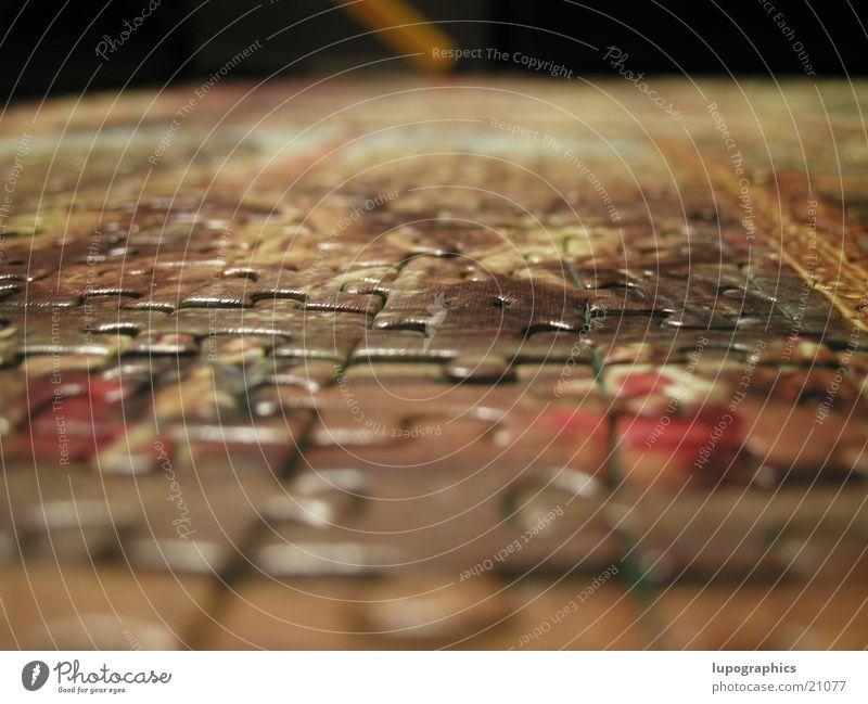 Puzzle Freizeit & Hobby Perspektive Makroaufnahme