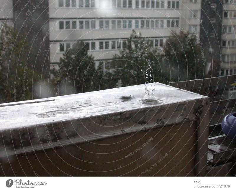 raindrop Regen Wassertropfen