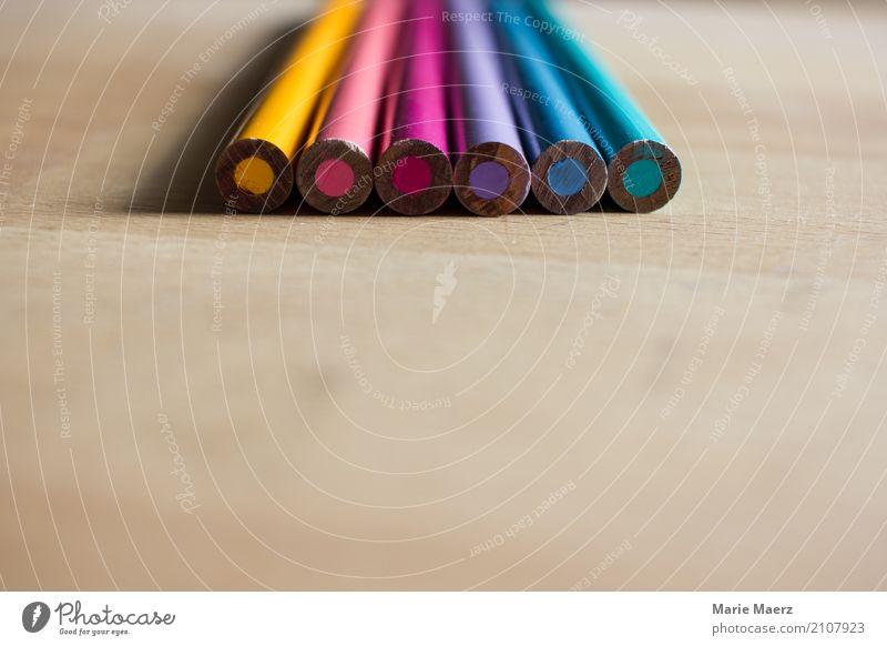 Buntstifte Freizeit & Hobby ästhetisch authentisch Fröhlichkeit Neugier mehrfarbig Freude achtsam Idee Kunst Hintergrundbild Schreibstift Farbstift malen