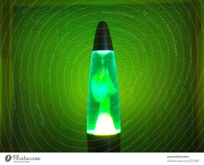 Anneliese grün blau Farbe Stil Bewegung hell Dinge Lava schimmern Lavalampe