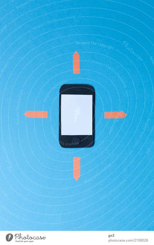 Immer erreichbar sprechen Business Arbeit & Erwerbstätigkeit Büro Kommunizieren Schilder & Markierungen Technik & Technologie Telekommunikation Erfolg Zukunft