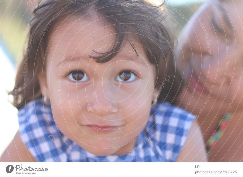 lustiges Gesicht Mensch Kind schön Freude Erwachsene Leben Lifestyle Liebe feminin Familie & Verwandtschaft Spielen Freizeit & Hobby Kindheit Fröhlichkeit Baby