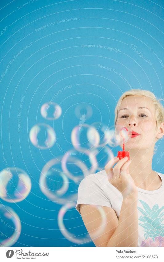 #A# Seifenflut Kunst Kunstwerk ästhetisch Seifenblase Seifenschaum Seifenhalter Freude spaßig Spaßvogel Spaßgesellschaft blau Unsinn Ananas blasen Leichtigkeit