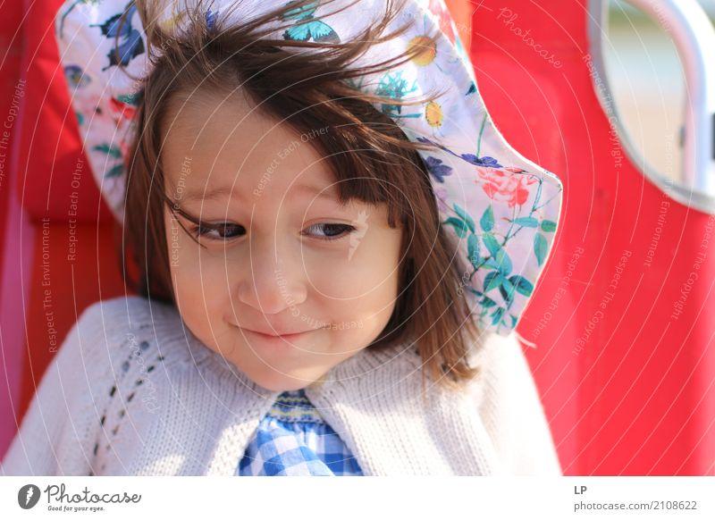 lustiges Gesicht 1 Mensch Kind Ferien & Urlaub & Reisen Sonne Freude Erwachsene Leben Lifestyle Gefühle Stil Familie & Verwandtschaft Freiheit Mode wild