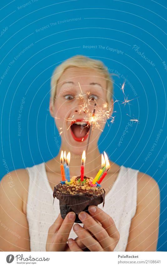#A# Freudenfeuer feminin 1 Mensch ästhetisch Geburtstag Geburtstagstorte Jubiläum Geburtstagsgeschenk Geburtstagswunsch Wunsch Überraschung gestikulieren Kerze