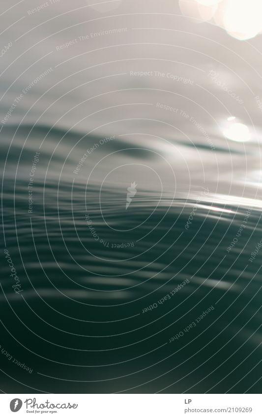Oberfläche von Wasser Lifestyle Wellness Leben harmonisch Wohlgefühl Zufriedenheit Sinnesorgane Erholung ruhig Meditation Ferien & Urlaub & Reisen Kreuzfahrt