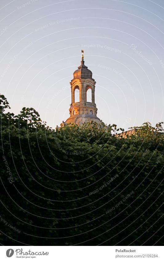 #A# Dresdner Sonne Kunst ästhetisch Dresden Frauenkirche Kuppeldach Sachsen Sehenswürdigkeit Wahrzeichen gold Städtereise Tourismus Turm Kirche