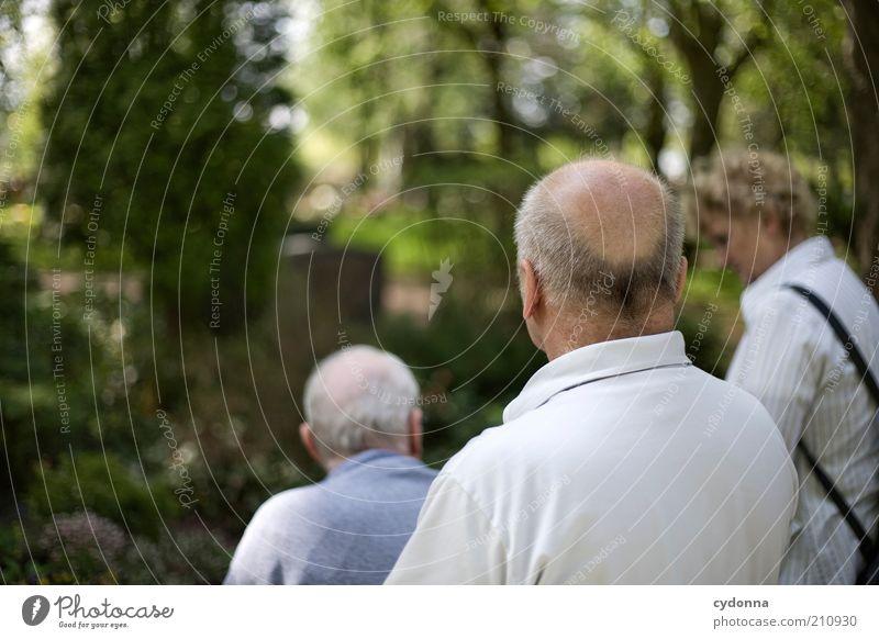 Rentnertrupp Frau Mensch Mann ruhig Senior Leben Menschengruppe Freundschaft Erwachsene Zeit Ausflug Trauer Freizeit & Hobby Vergänglichkeit
