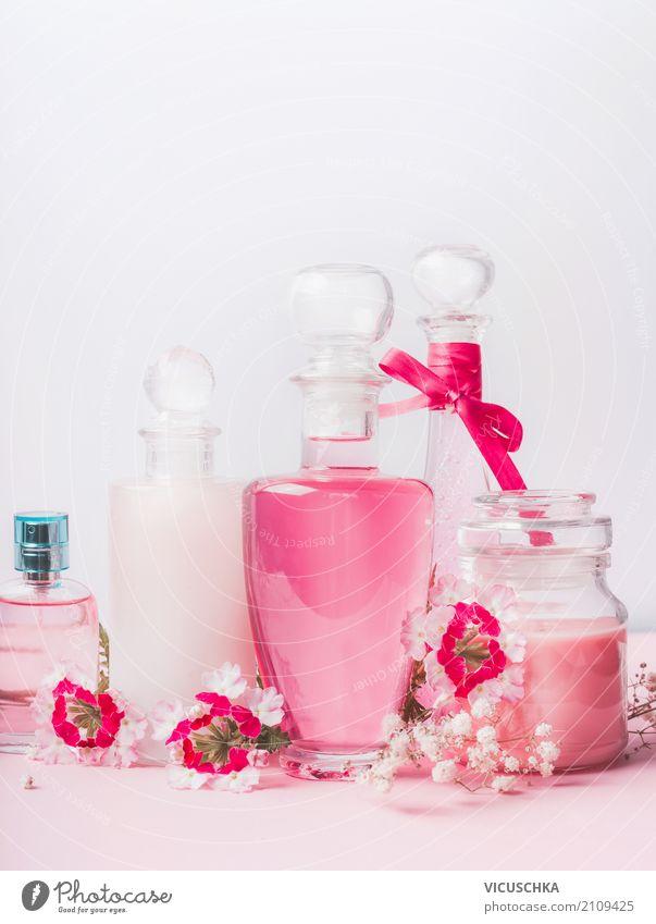 Beauty und Hautpflege Produkte schön Blume Lifestyle Gesundheit feminin Stil rosa Design Dekoration & Verzierung kaufen Beautyfotografie Körperpflege Kosmetik