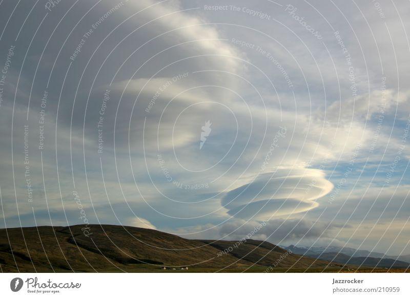 Clouds Ferien & Urlaub & Reisen Ferne Freiheit Expedition Insel Umwelt Natur Landschaft Urelemente Luft Himmel Wolken Klima Wetter Unwetter Wind Sturm Island