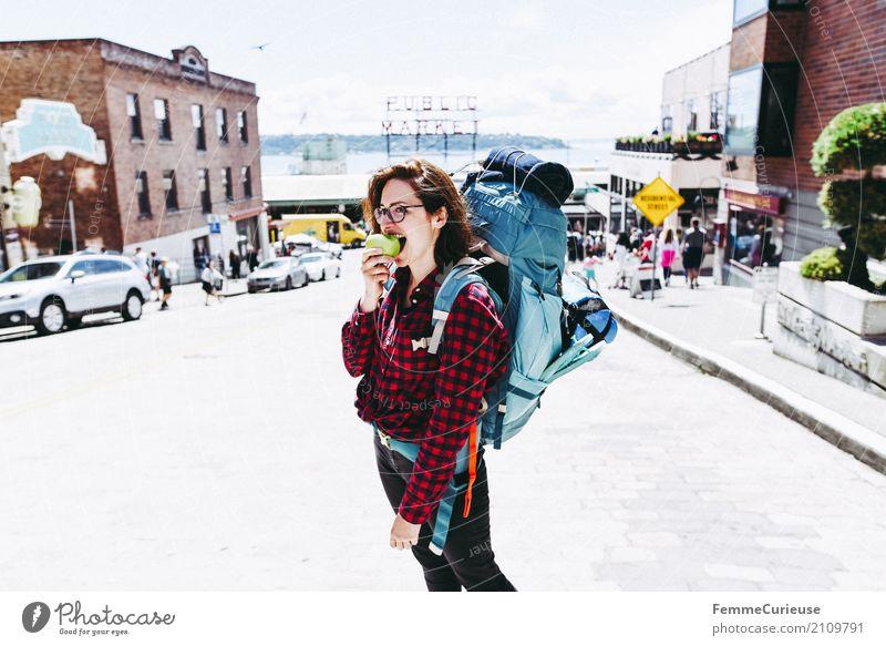 Roadtrip West Coast USA (230) Mensch Frau Ferien & Urlaub & Reisen Jugendliche Junge Frau Sommer Gesunde Ernährung 18-30 Jahre Reisefotografie Erwachsene Essen