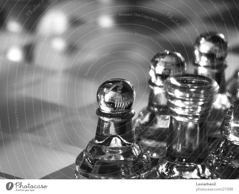 Glasschach Feld Glas Freizeit & Hobby Spielfeld durchsichtig Schachbrett Schach