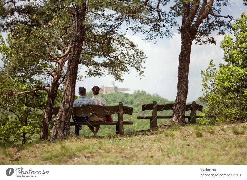 Wartburgblick Lifestyle harmonisch Wohlgefühl Zufriedenheit Erholung ruhig Ferien & Urlaub & Reisen Tourismus Ausflug Ferne Sommerurlaub Mensch Frau Erwachsene