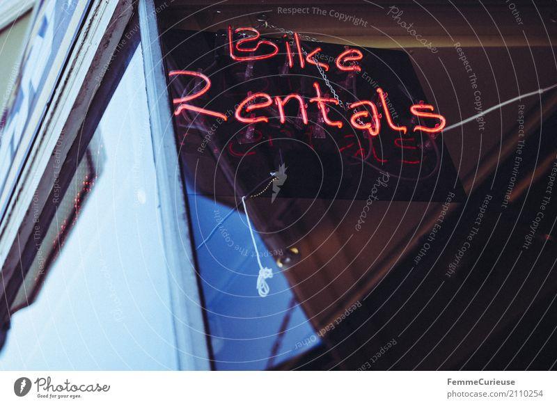 Roadtrip West Coast USA (200) Bewegung Schriftzeichen Fahrrad Schilder & Markierungen Fahrradfahren Hinweisschild Zeichen Fahrradtour Ziffern & Zahlen
