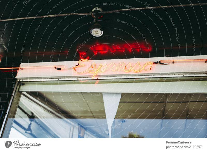 Roadtrip West Coast USA (202) Zeichen Schriftzeichen Ziffern & Zahlen Schilder & Markierungen Hinweisschild Warnschild genießen Espresso Kaffee Kaffeetrinken