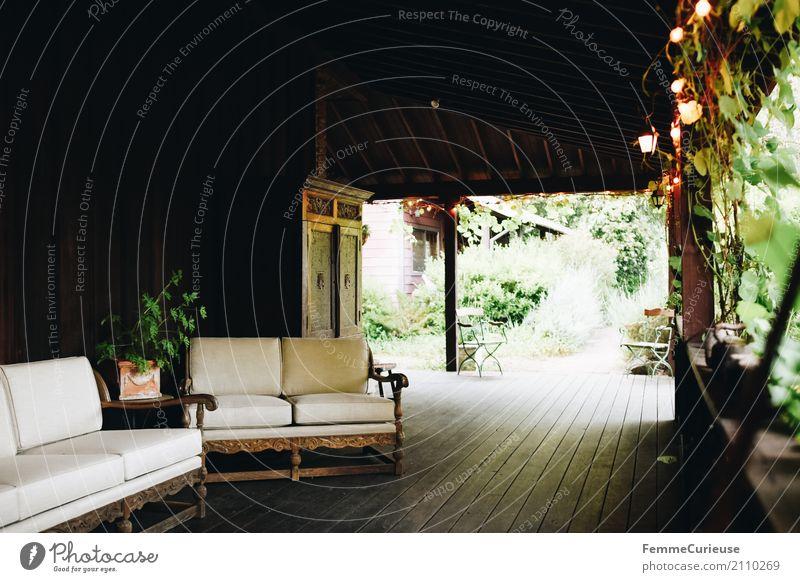 Roadtrip West Coast USA (219) Natur Ferien & Urlaub & Reisen Hotel Veranda Garten Anwesen Haus Ferienhaus Sofa gemütlich Dielenboden Holzfußboden Lichterkette