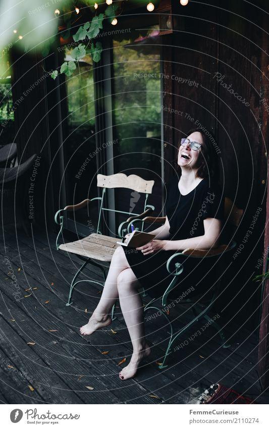Roadtrip West Coast USA (273) feminin Junge Frau Jugendliche Erwachsene 1 Mensch 18-30 Jahre 30-45 Jahre Freude Reisefotografie Häusliches Leben Haus Hotel