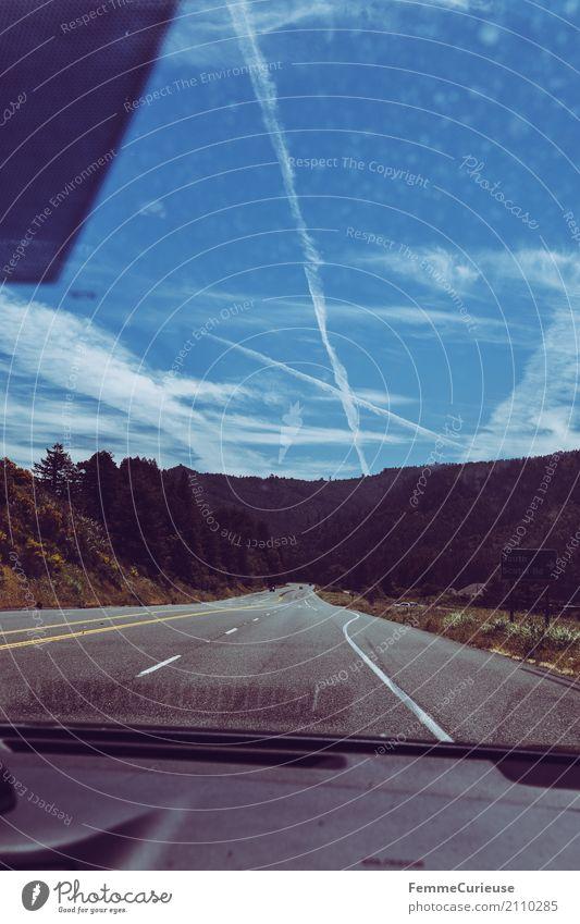 Roadtrip West Coast USA (193) Verkehr Verkehrswege Personenverkehr Straßenverkehr Autofahren Bewegung Freiheit Reisefotografie Ferien & Urlaub & Reisen PKW