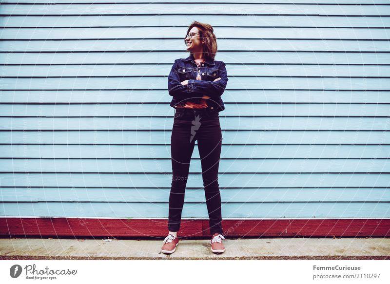 Roadtrip West Coast USA (211) feminin Junge Frau Jugendliche Erwachsene Mensch 18-30 Jahre 30-45 Jahre Freizeit & Hobby lässig Coolness trendy Hipster