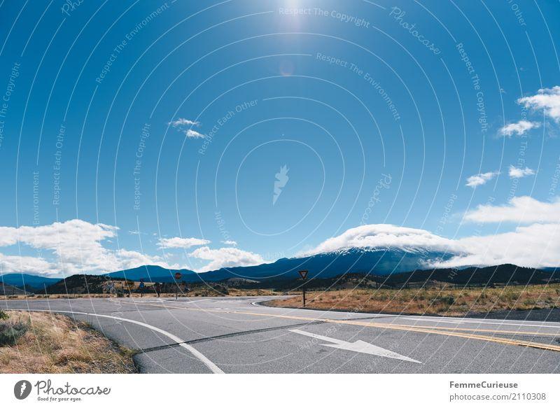 Roadtrip West Coast USA (184) Natur Verkehr Verkehrswege Personenverkehr Öffentlicher Personennahverkehr Straßenverkehr Bewegung Westküste Berge u. Gebirge