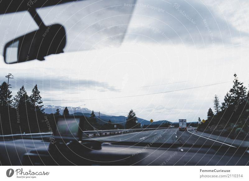 Roadtrip West Coast USA (182) Himmel Ferien & Urlaub & Reisen Wolken Reisefotografie Freiheit Ausflug Verkehr PKW Abenteuer geheimnisvoll Verkehrswege Autobahn