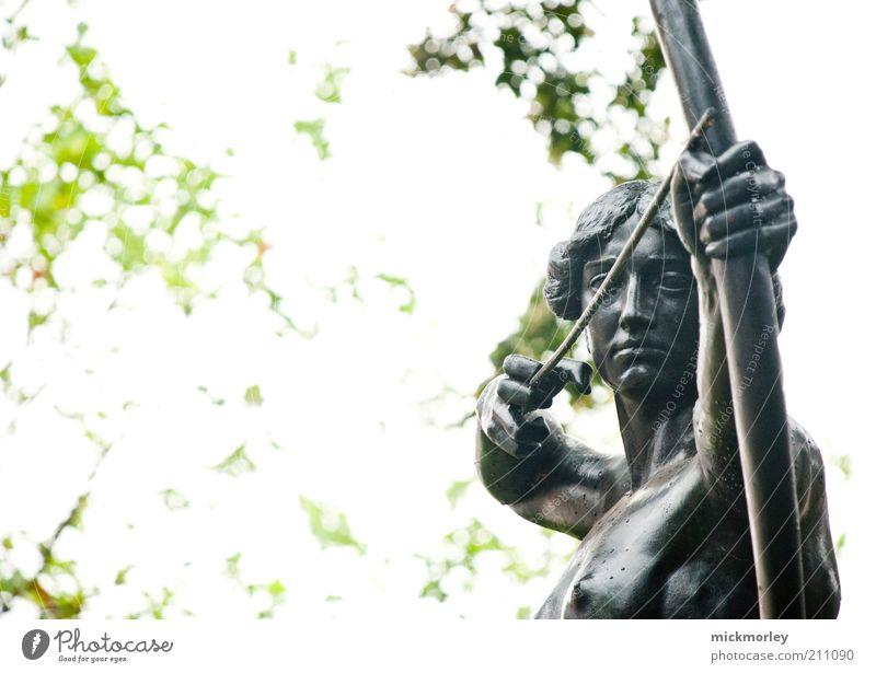 Antike Treffsicherheit Mensch feminin Kunst Zufriedenheit Kraft elegant ästhetisch Kultur beobachten Pfeile historisch Jagd Statue Mut Wachsamkeit Skulptur