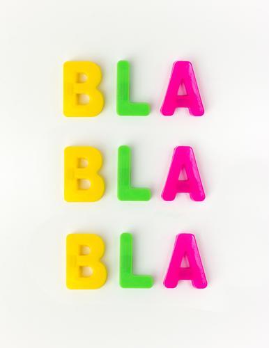 Rauschen sprechen Kunst Denken Kommunizieren verrückt Typographie Konflikt & Streit selbstbewußt Langeweile Enttäuschung rebellisch Hochmut Ehrlichkeit Laster