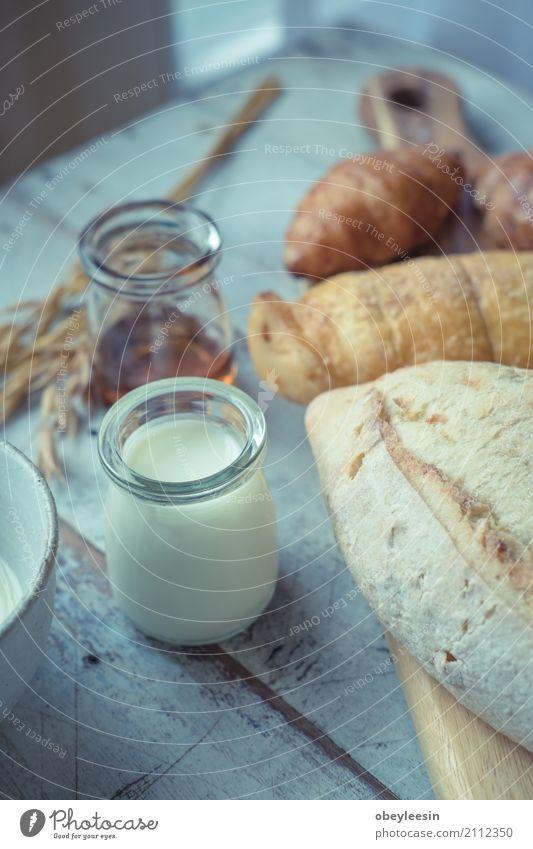 Essen Lifestyle Stil Kunst Lebensmittel gut Frühstück Brot Künstler Mittagessen Croissant