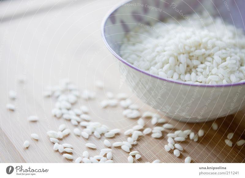 baby, es gibt reis! weiß Lebensmittel Ernährung Kochen & Garen & Backen Sauberkeit Getreide Holzbrett Abendessen Schalen & Schüsseln Mittagessen