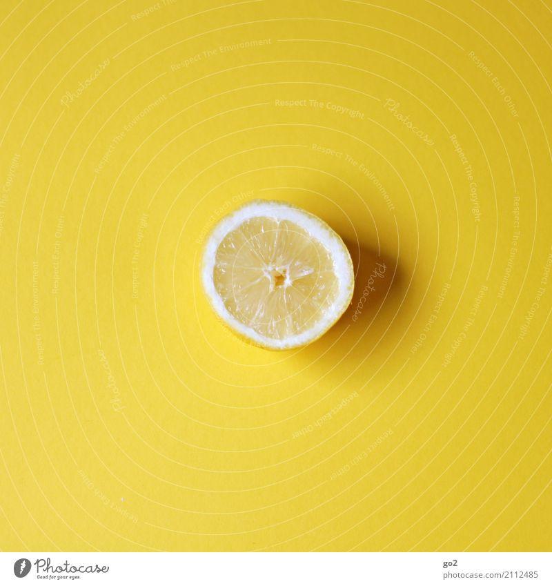 Zitrone Lebensmittel Frucht Zitronenscheibe Ernährung Bioprodukte Vegetarische Ernährung Fasten Gesunde Ernährung ästhetisch Fröhlichkeit frisch Gesundheit