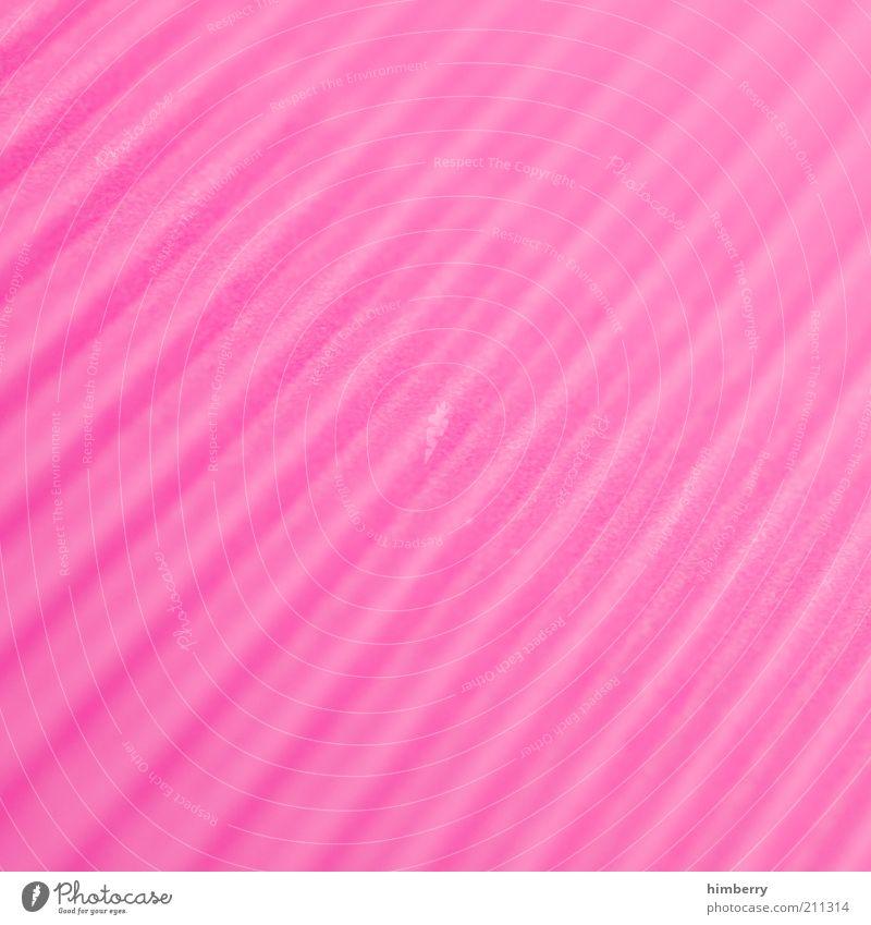 pinkplastic Kunst Kunstwerk Medien Printmedien Neue Medien Kitsch Hintergrund neutral rosa Strukturen & Formen Linie Kunststoff Grafik u. Illustration Muster