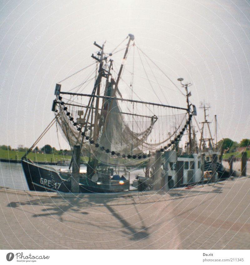 50 Jahre - Glückwunsch, ginger!!! Verkehrsmittel Schifffahrt Bootsfahrt Fischerboot Segelboot Segelschiff Wasserfahrzeug Hafen Arbeit & Erwerbstätigkeit