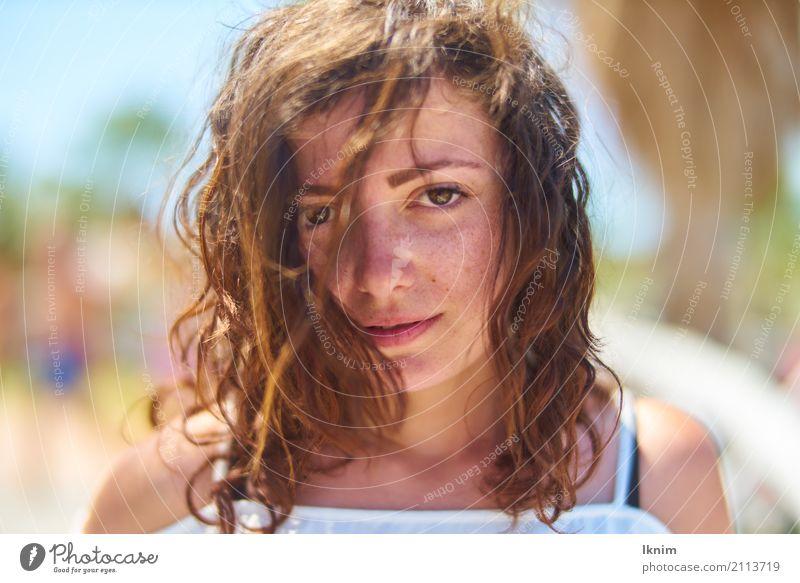 laura feminin Junge Frau Jugendliche Erwachsene Leben Haare & Frisuren Gesicht 18-30 Jahre Coolness einzigartig natürlich niedlich verstört Sorge Irritation